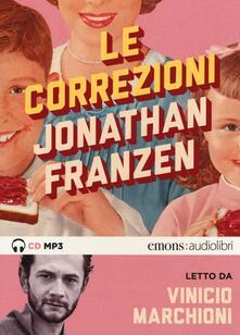 Milanospringparade.it Le correzioni letto da Vinicio Marchioni. Audiolibro. 2 CD Audio formato MP3 Image