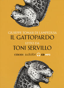 Antondemarirreguera.es Il Gattopardo letto da Toni Servillo. Audiolibro. CD Audio formato MP3 Image