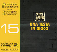 Nicocaradonna.it Una testa in gioco letto Giuseppe Battiston letto da Giuseppe Battiston. Audiolibro. CD Audio formato MP3 Image