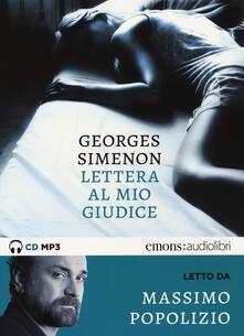Lettera al mio giudice letto da Massimo Popolizio. Audiolibro. CD Audio formato MP3.pdf