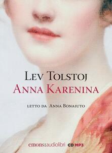 Squillogame.it Anna Karenina letto da Anna Bonaiuto. Audiolibro. CD Audio formato MP3 Image