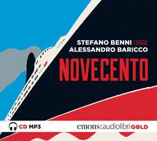 Lpgcsostenible.es Novecento letto da Stefano Benni. Audiolibro. CD Audio formato MP3 Image