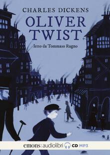 Radiospeed.it Oliver Twist letto da Tommaso Ragno. Audiolibro. 2 CD Audio formato MP3 Image