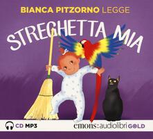 Listadelpopolo.it Streghetta mia letto da Bianca Pitzorno. Audiolibro. CD Audio formato MP3 Image