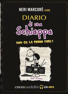 Diario di una schiappa. Non ce la posso fare! Letto da Neri Marcorè letto da Neri Marcorè. Audiolibro. CD Audio formato MP3.pdf