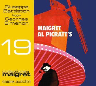 Libro Maigret al Picratt's. Letto da Giuseppe Battiston  Georges Simenon