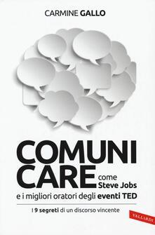 Ascotcamogli.it Comunicare come Steve Jobs e i migliori oratori degli eventi TED. I 9 segreti di un discorso vincente Image