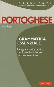 Criticalwinenotav.it Portoghese. Grammatica essenziale Image