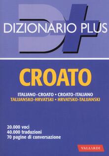 Cocktaillab.it Dizionario croato. Italiano-croato, croato-italiano Image