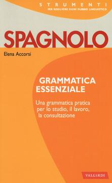 Spagnolo. Grammatica essenziale.pdf
