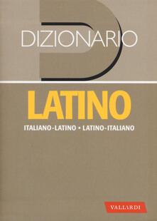 Dizionario latino. Italiano-latino, latino-italiano.pdf