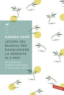 Lezioni del Buddha per raggiungere la serenità in 3 mesi. 90 esercizi per rendere meravigliosa la vita di tutti i giorni.pdf