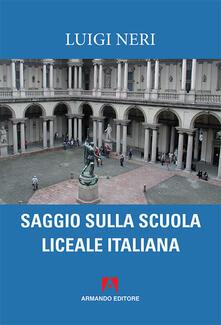 Amatigota.it Saggio sulla scuola liceale italiana Image