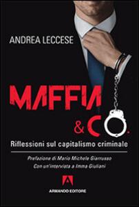 Maffia e Co. Riflessioni sul capitalismo criminale