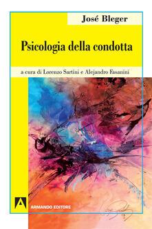 Psicologia della condotta - José Bleger - copertina