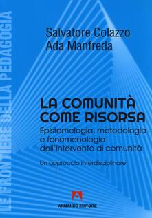 Antondemarirreguera.es La comunità come risorsa. Epistemologia, metodologia e fenomenologia dell'intervento di comunità. Un approccio interdisciplinare Image