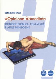 Vitalitart.it #opinione immediata. Opinione pubblica, post-verità e altre menzogne Image