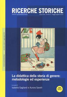 Winniearcher.com Ricerche storiche (2019). Vol. 2: didattica della storia di genere: metodologie ed esperienze, La. Image