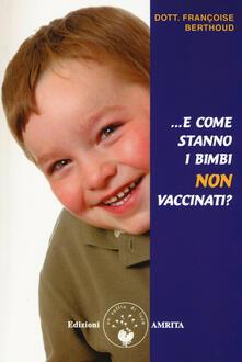Radiospeed.it E come stanno i bimbi non vaccinati? Image