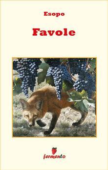 Favole - Esopo - ebook