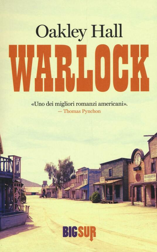 Warlock - Oakley Hall - copertina