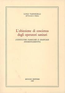 L' obiezione di coscienza degli operatori sanitari