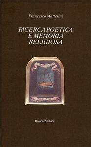 Ricerca poetica e memoria religiosa