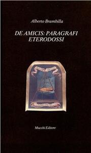 De Amicis: paragrafi eterodossi