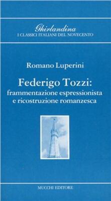 Premioquesti.it Federico Tozzi. Frammentazione espressionistica e ricostruzione romanzesca Image