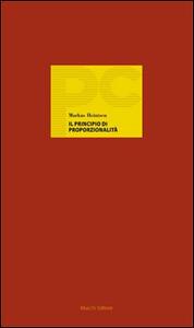 Il principio di proporzionalità. Un cosmopolita tedesco del diritto costituzionale
