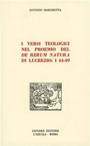 I versi teologici nel proemio del «De rerum natura» di Lucrezio