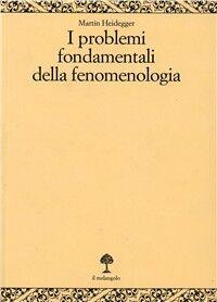 I problemi fondamentali della fenomenologia