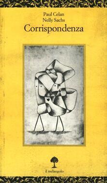 Corrispondenza - Paul Celan,Nelly Sachs - copertina