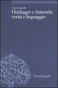 Heidegger e Aristotele: verità e linguaggio