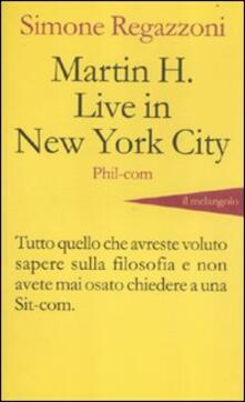 Associazionelabirinto.it Martin H. live in New York City Image