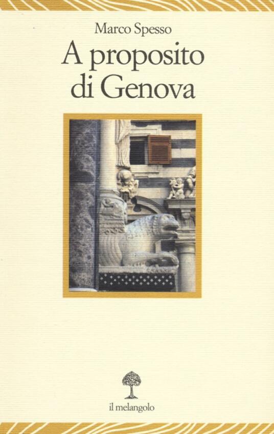 A proposito di Genova - Marco Spesso - copertina