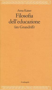 Lpgcsostenible.es Filosofia dell'educazione (im Grundiss) Image