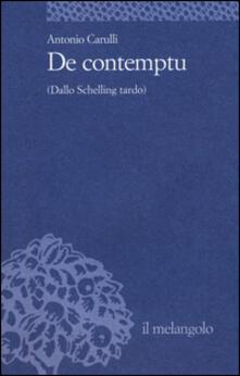 Promoartpalermo.it De contemptu (Dallo Schelling tardo) Image