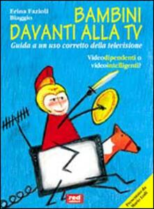 Bambini davanti alla Tv - Erina Fazioli Biaggio - copertina