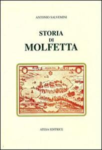 Storia di Molfetta (rist. anast. Napoli, 1878) - Antonio Salvemini - copertina