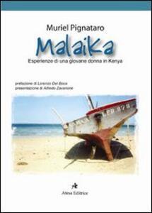 Malaika. Esperienze di una giovane donna in Kenya - Muriel Pignataro - copertina