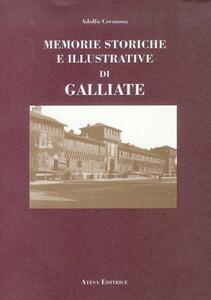 Memorie storiche e illustrative di Galliate