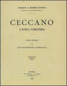 Anagni attraverso i secoli (rist. anast. Anagni, 1907) - Pietro Zappasodi - copertina