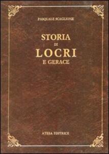 Storia di Locri e Gerace (rist. anast. Napoli, 1856) - Pasquale Scaglione - copertina