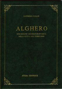 Alghero. Descrizione geografico-storica