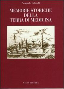 Memorie storiche della terra di Medicina (rist. anast. Bologna, 1852) - Pasquale Orlandi - copertina