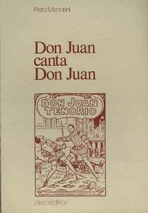 Don Juan canta don Juan