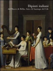 Dipinti italiani del Museo de bellas artes di Santiago del Cile - copertina