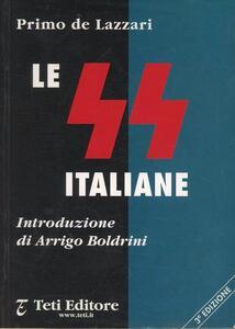 Le SS italiane - Primo De Lazzari - copertina