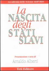 La nascita degli stati slavi - copertina